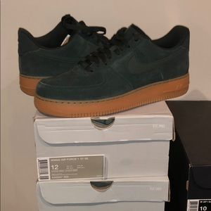 """Nike Air Force 1 WMNS 07 SE """"Outdoor Green"""""""
